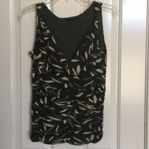 INC green tank 100% nylon